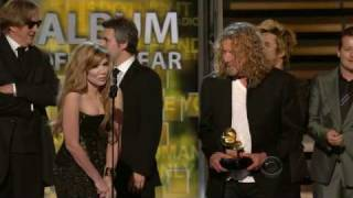 Download 2009 GRAMMY Awards - Plant/Krause Win Album of the Year Video