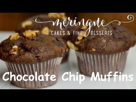 Homemade Chocolate Chip Muffin Recipe