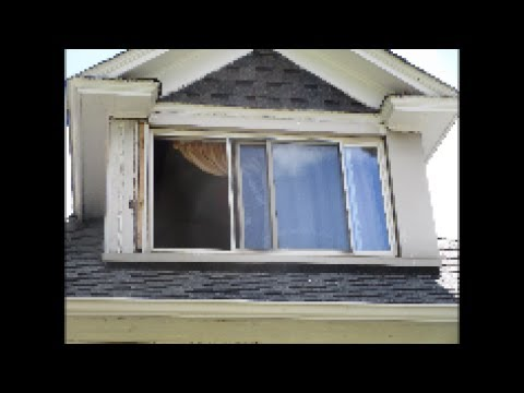 Fixing blown off Aluminum house trim