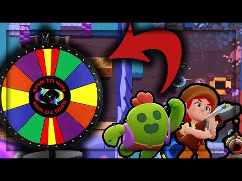 THE GREAT WHEEL Challenge! - Brawl Stars Spin the Wheel Challenge by Doing Life Gaming!