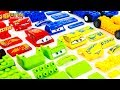 Learning Color Disney Cars Lightning McQueen Lego Play For Kids Car Toys