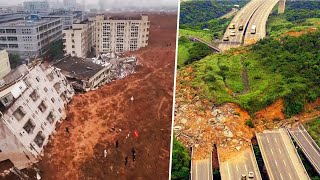 12 Epic Land Slides Caught on Camera