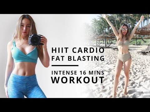 HIIT Cardio Workout | Fat Burning Workout | Flat Belly Tips