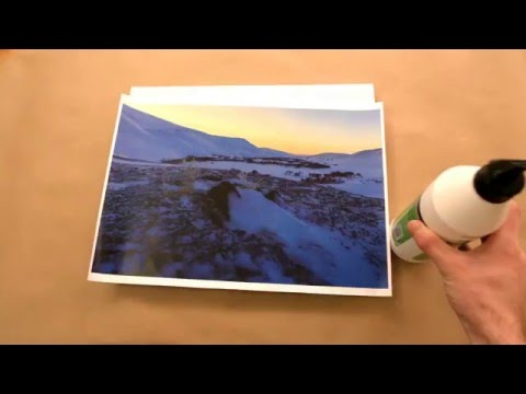 DIY transfer a photo to a canvas at home