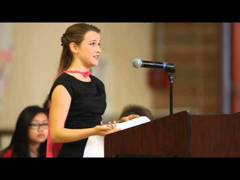 Juliet for School President Speech [Click Details for Transcript]