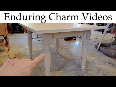 Make A Farm Table Start To Finish