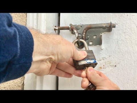 How To Fix A Sticky Lock