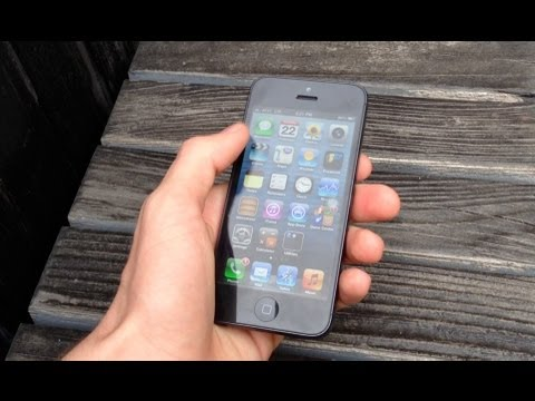 Apple iPhone 5 Review recorded with an iPhone 5