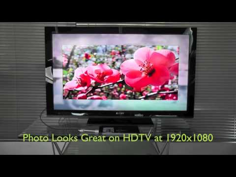 HI-Resolution Photo Slideshow on HDTV with iPad