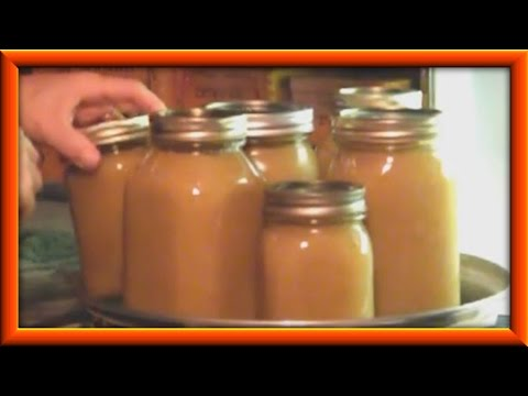 A Different  Way Of Making Applesauce For Canning