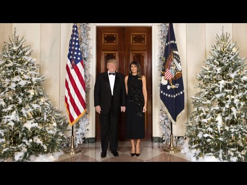 Why is Barron Missing From President Trump's First Christmas Portrait?