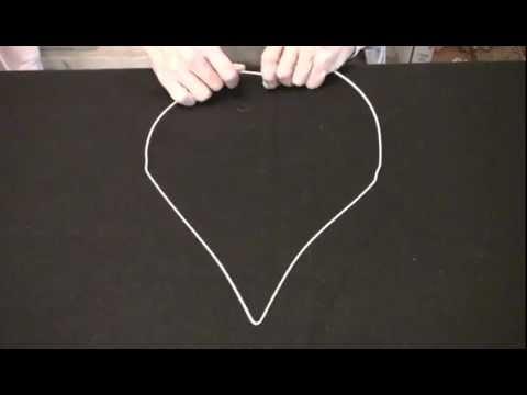 Heart Wreath Wire Base