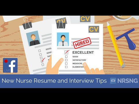 How to Get a Job in the ICU as a New Grad Nurse (resume and interview tips for nursing students)
