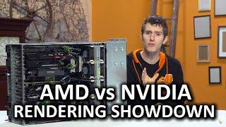AMD vs Nvidia for Video Rendering - Adobe Premiere and Media Encoder