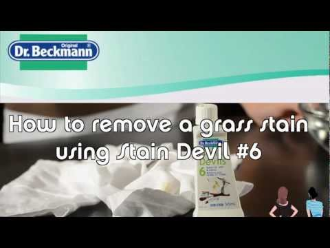 How to Remove Makeup, Dirt & Grass Stains With Dr. Beckmann Stain Devil No. 6