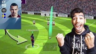I got Zlatan Ibrahimovic 🔥 finaly the king is back #pes20mobile