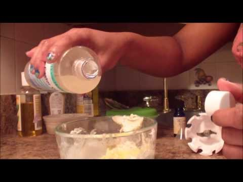 HOW TO MAKE YOUR CREAMY SHEA BUTTER MIX FOR HAIR