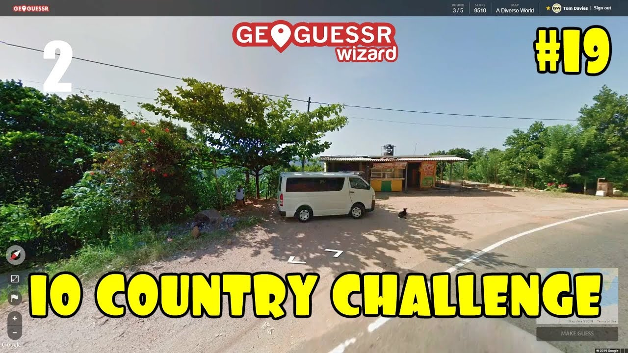 Geoguessr - 10 Country Challenge #19 - I DUN IT ..BUT..