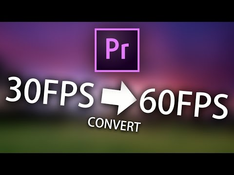 Convert 30FPS to 60FPS in Premiere Pro! (Smooth Slow Motion too!)