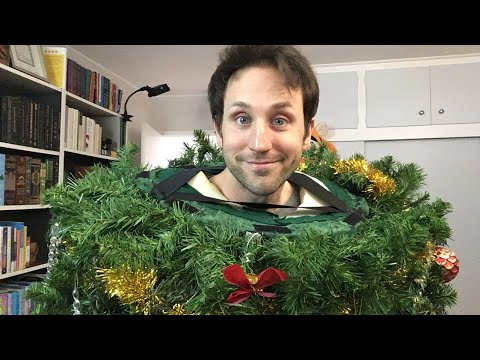 LIVE 🎄 tree costume, book unboxing, thoughts on vlogging