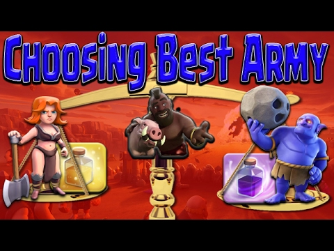 Clash of Clans | Best War Army TH9 with HOGS | Pick Spells & Troops GoHo Strategy Guide