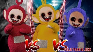 Minecraft TELETUBBIES.EXE VS - WHOS IS THE MOST EVIL TELETUBBIE.EXE?? - Donut the Dog