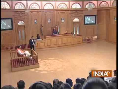 "Students participated in India TV News Channel ""Aap Ki Adalat"""