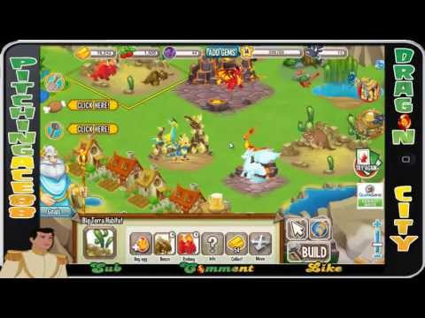 Dragon City - Tutorial + Gameplay + Add Me (Facebook, iPhone, Android)