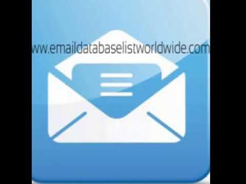 UK Email List, UK Email Lists, UK Email Database Mailing List