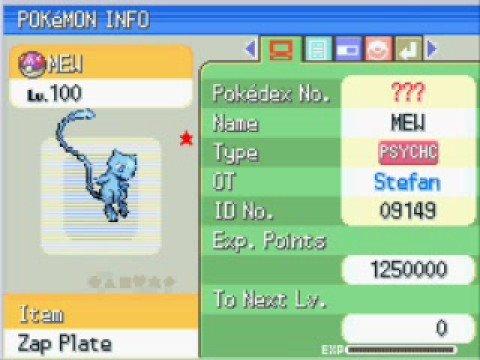 Pokemon Pearl/Diamond Super Pokemon Action Replay Codes