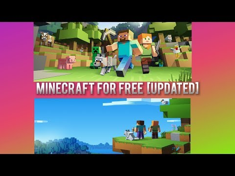 How To Download Minecraft For Free on Mac/Windows UPDATED!