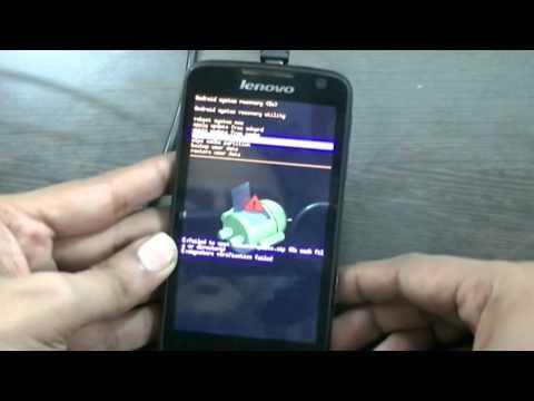 Unlock Lenovo S560 by Hard Reset