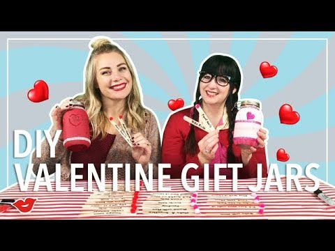 DIY Valentine's Day Gift Jars! | Laughing Moms for Millennial Moms