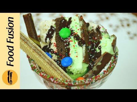 Frozen Cake Dessert by Food Fusion