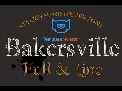 Bakersville Font #68277