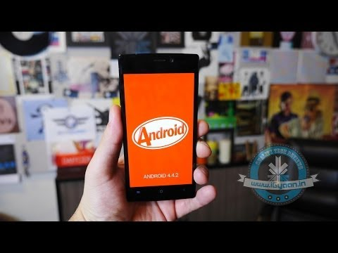 Gionee S5.5 Android KitKat 4.4.2 Update First Look