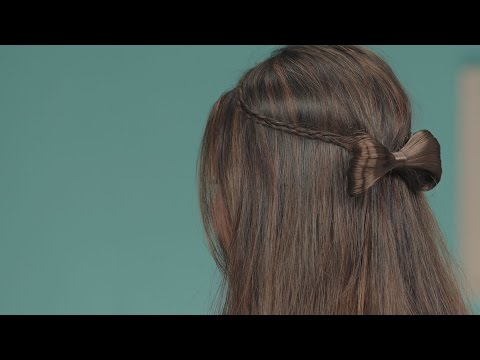 Quick And Easy Hairstyles Using Hair Accessories - Hairstyles for Girls