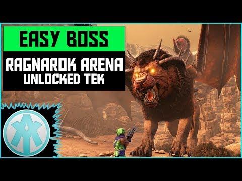 Ark Ragnarok Boss Arena Gamma (Easy) Official PvP Xbox