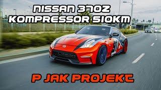 Nissan 370Z Kompressor 510KM | P jak Projekt | gościnnie Coobcio