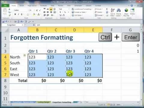 How to Clear Cell Formatting in Excel