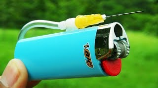 3 Simple Life Hacks with Lighters