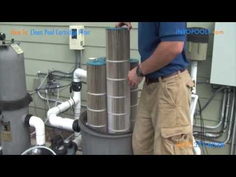 How To: Clean a Pool Cartridge Filter