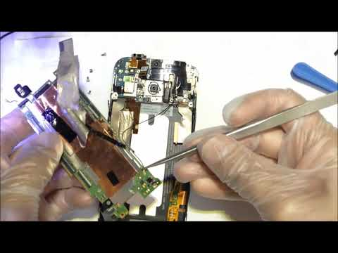 HTC ONE M8 Cracked LCD Replacement