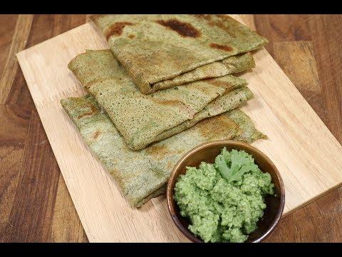 Green Moong Dosa | Recipes Under 15 Minutes | Chef Jaaie | Sanjeev Kapoor Khazana