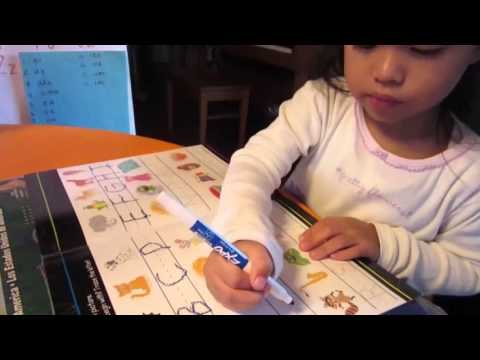 Teaching  your Toddler How to write the ABCs.