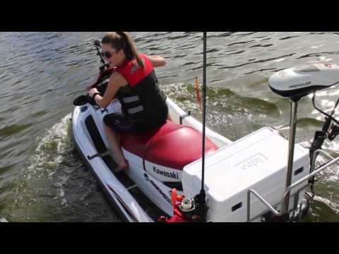 STRONG OUTDOORS  PAC RAC    Jetski Fishing! 2