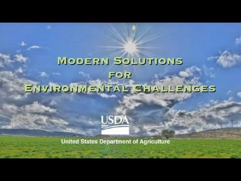 USDA -- Modern Solutions for Environmental Challenges