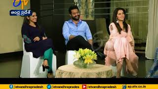 Jr NTR & His Heroines Chats About Jai Lava Kusa Movie