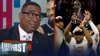 If Kawhi wins a title with LAC only MJ would have a better resume — Cris | NBA | FIRST THINGS FIRST