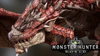ITS BACK!! HUNTING THE KING OF THE ISLAND! RATHALOS! - Monster Hunter World Beta Gameplay